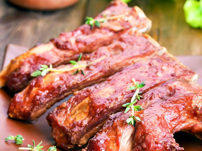 Barbequed Ribs