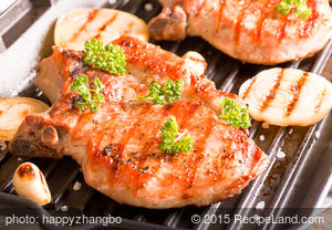 Barbecued Pork Steaks 2