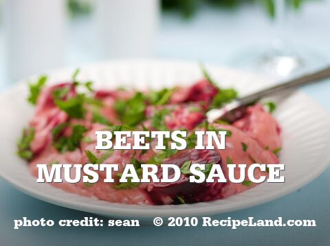 Beets in Mustard Sauce