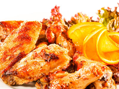 Quick and Easy Barbecued Chicken Wings