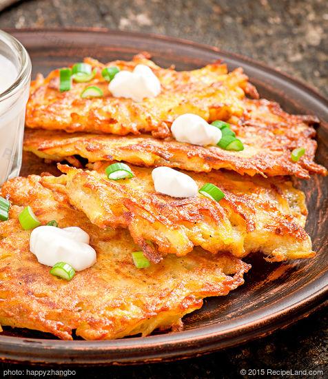 Favourite Grated Potato Pancakes Recipe