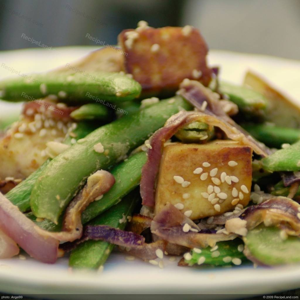 Sesame Maple Roasted Tofu Recipe