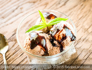 Creamy Chocolate Coconut-Milk Ice Cream