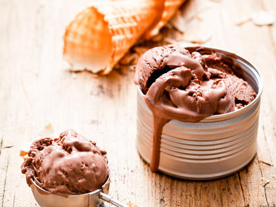Jack Daniel's Chocolate Ice Cream
