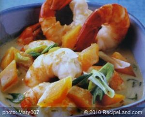 Shrimp and Pumpkin Curry