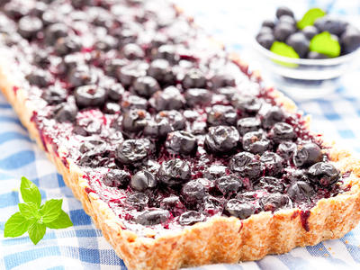 Summer Blueberry Tart