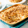 'Cracker Barrel' Hashbrown Casserole with French Onion Topping