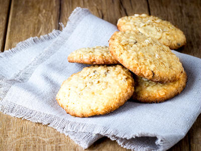 Favourite  Coconut Oatmeal Cookies