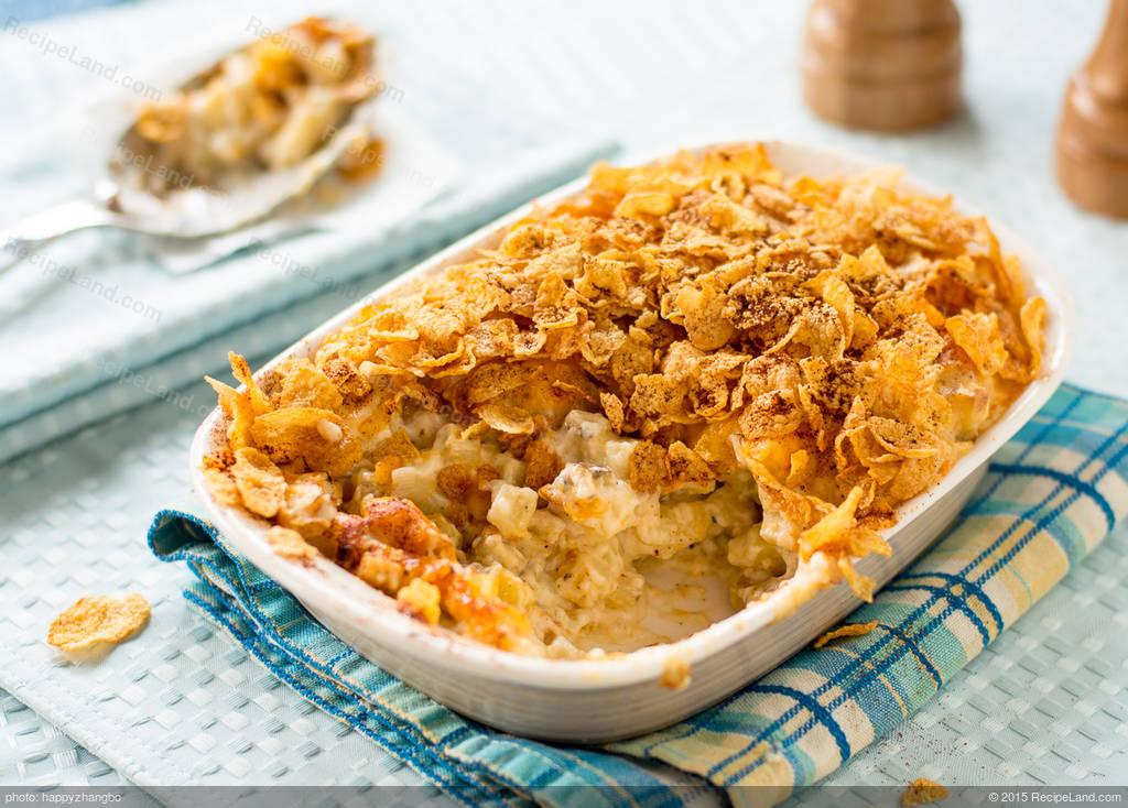 Mom's Hash Brown Potato Casserole Recipe