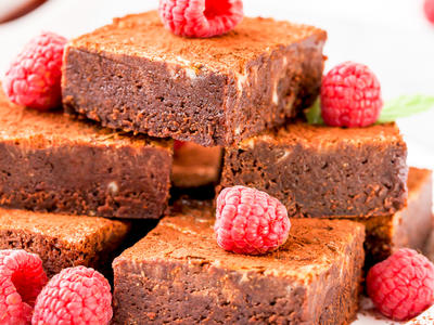 Quickand Easy Fudgey Brownies