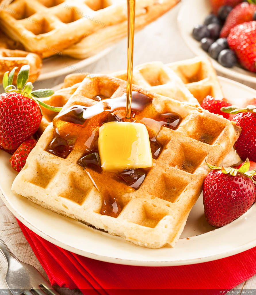 Delicious Belgian Waffles Recipe