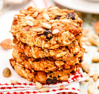 Diabetic Spice Oatmeal Cookies