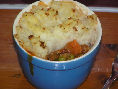 Vegetarian Cottage Pie