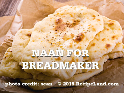 Naan For Breadmaker