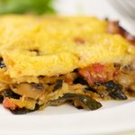 Polenta with Pumpkin and Kale