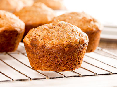 Basic Whole Wheat Muffins