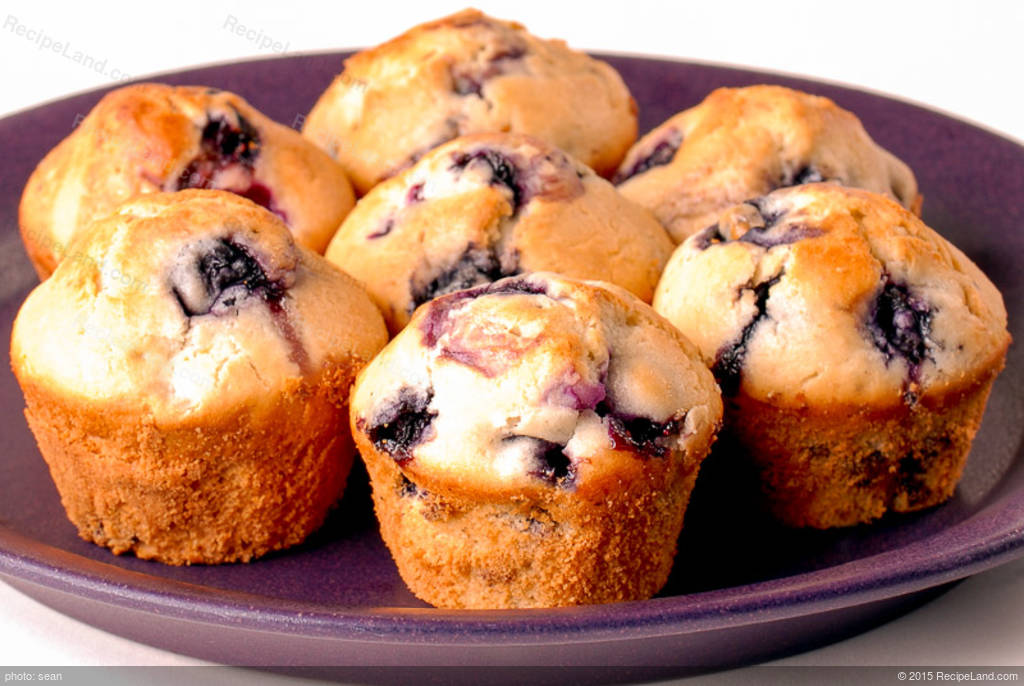 Baking Mix Blueberry Muffins Recipe