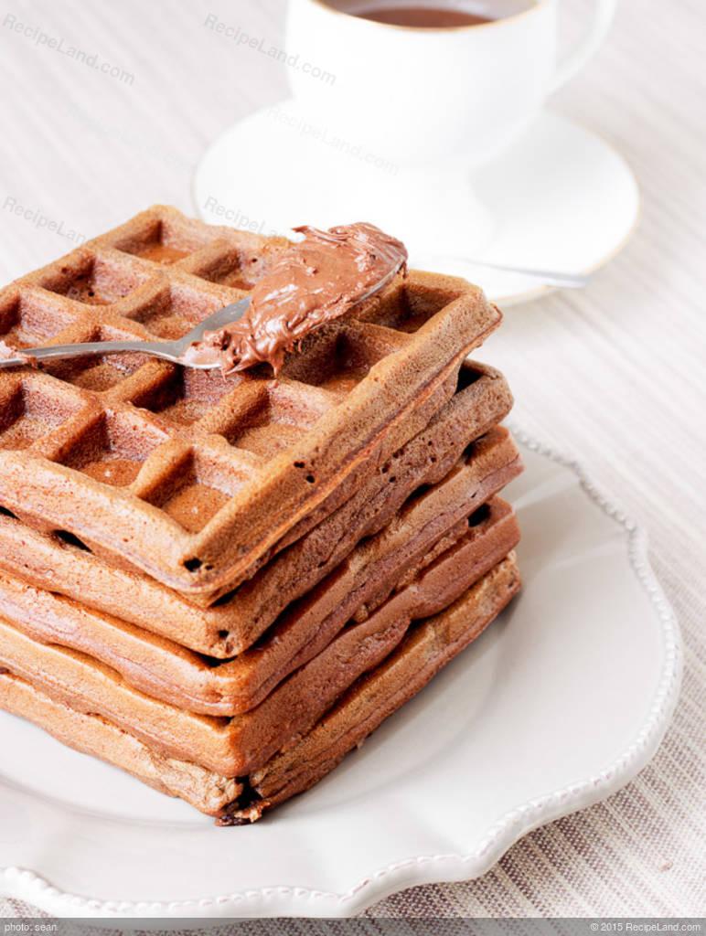 Chocolate Waffles-Mix Recipe | RecipeLand.com