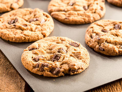 Super Chocolate Chip Cookies
