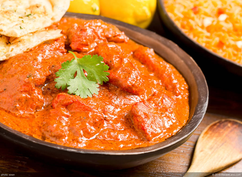 Chicken Tikka Masala Main Recipe