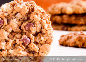 Herman Oatmeal Chocolate Chip Cookies