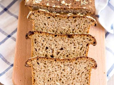oat flour bread machine