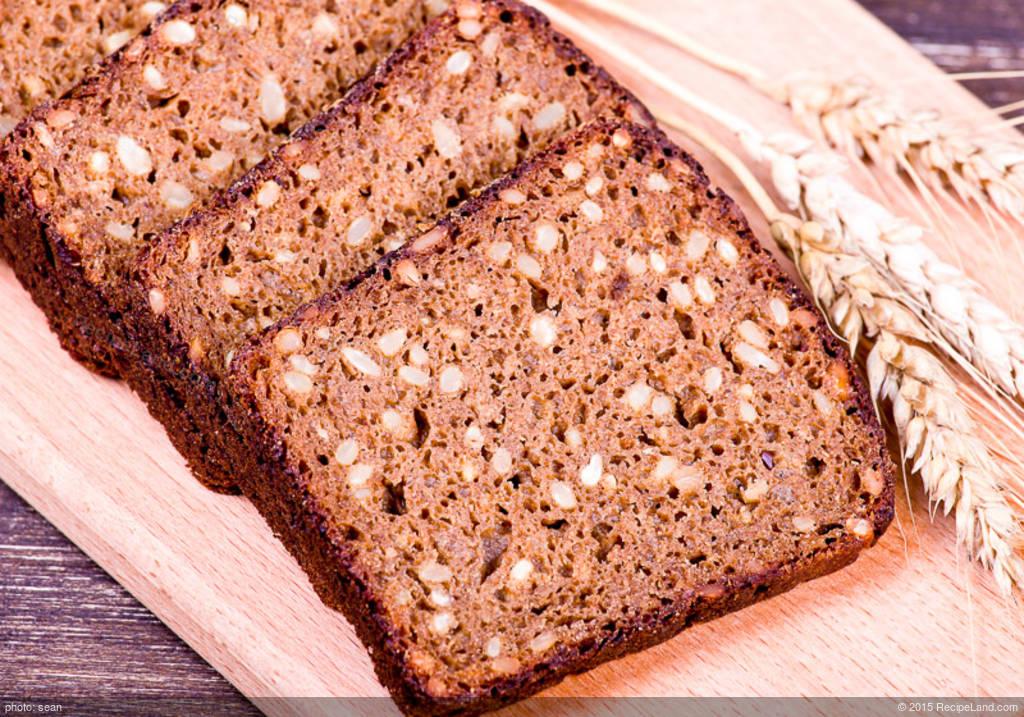 Black Rye Bread Recipe | RecipeLand.com
