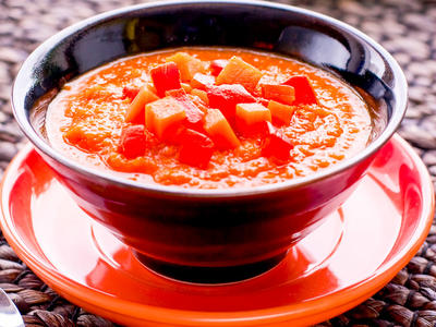 Pumpkin and Tomato Bisque