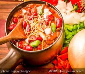 Chili with Kidney Beans