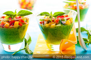 Avocado Gazpacho Soup