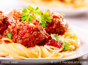 Crockpot Barbecued Meatballs