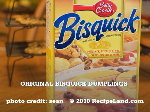 Original Bisquick Dumplings