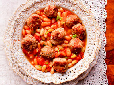 Meatball Chili Stew