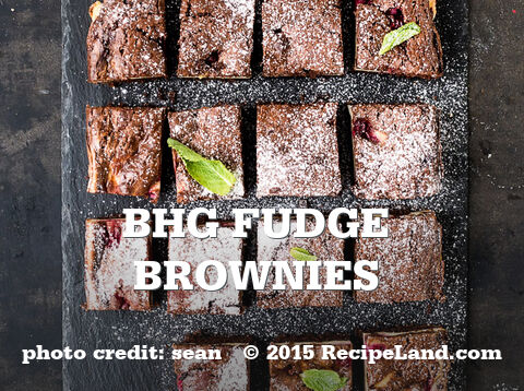 BHG Fudge Brownies