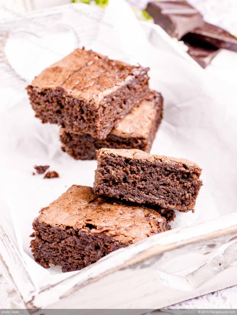 Chewy Moist Brownies Recipe Recipeland Com