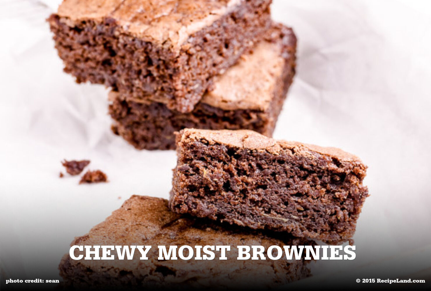 Chewy Moist Brownies