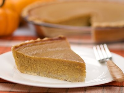 Classic Low Fat Pumpkin Pie