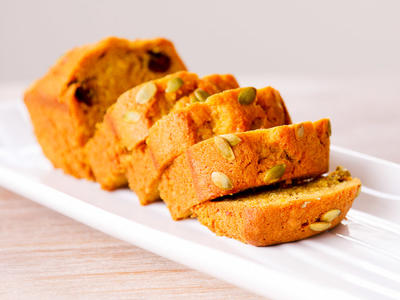 Pumpkin Gingerbread Loaves