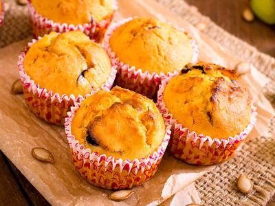 Breakfast Pumpkin Muffins