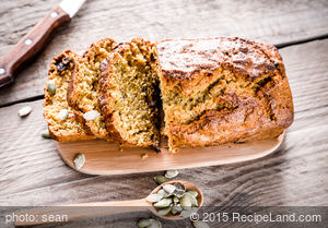 Super Pumpkin Nut Bread