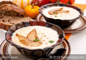 Creamy Roasted Parsnip Soup