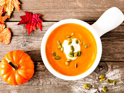Comfy Winter Squash and Apple Soup
