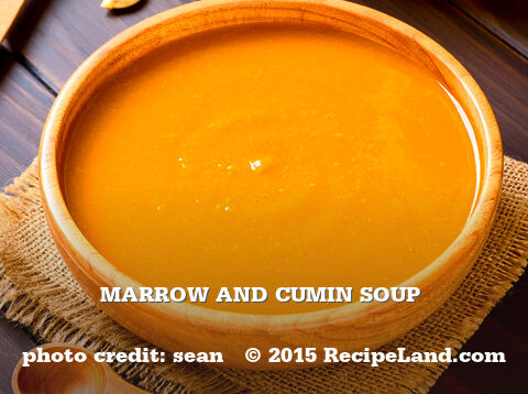 Marrow and Cumin Soup