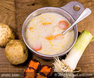 German Bacon Potato Soup