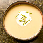 Chilled Leek and Potato Soup