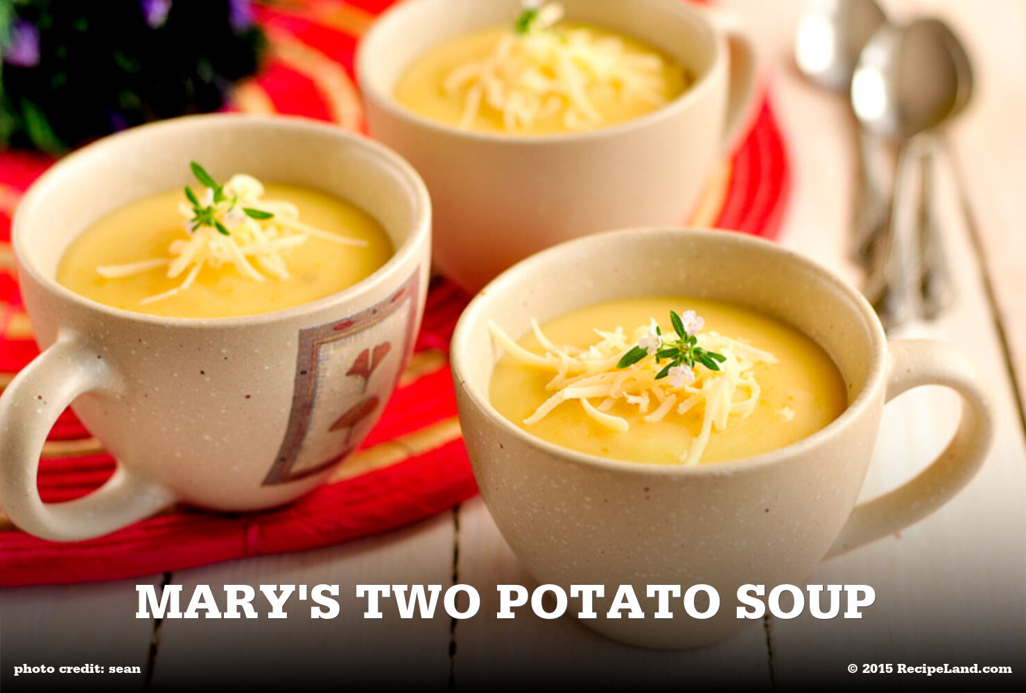 Mary's Two Potato Soup