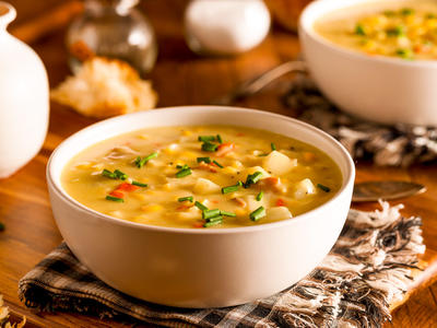 Delicious August Corn Chowder