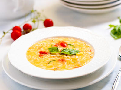Yummy Avgolemono (rice soup)