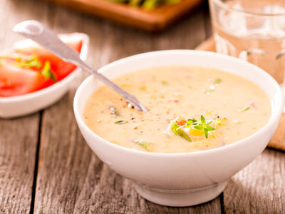 Comfy Corn and Potato Chowder