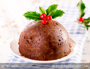 Buttermilk Christmas Pudding